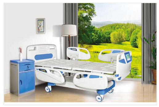 Corrosion Resistant Adjustable Beds Hospital Style With Side Rails