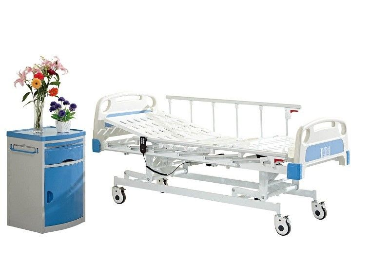 ICU Room Moveable 3 Function Electric Hospital Bed